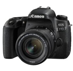 Фотоаппарат Canon EOS 77D Kit 18-55mm IS STM