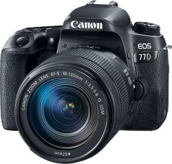 Фотоаппарат Canon EOS 77D Kit 18-135mm IS USM