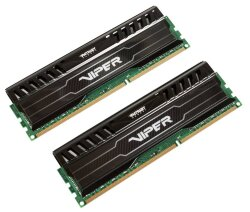 Модуль памяти Patriot Memory DDR3 1600MHz PC-12800 CL14 - 8Gb KIT (2x4Gb) PV38G160C9K